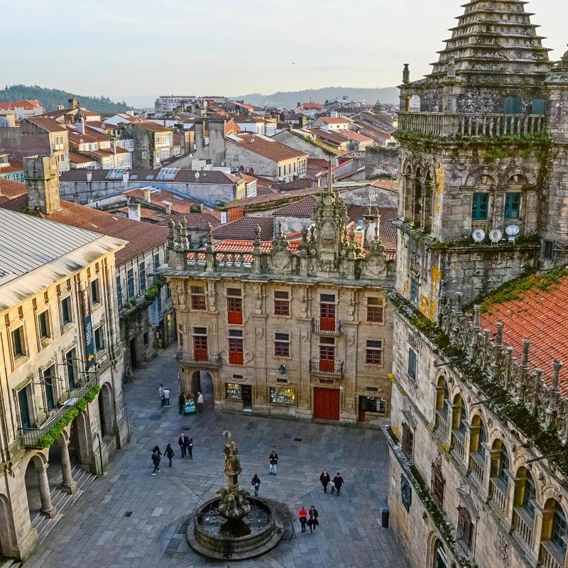 Los 30 mejores hoteles y hospedajes en santiago de - Persianas santiago de compostela ...