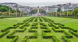 Stadtzentrum Lissabon