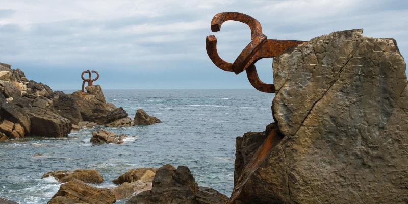 Peine del Viento Sculptures