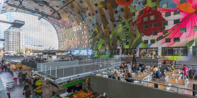 Marché Markthal de Rotterdam