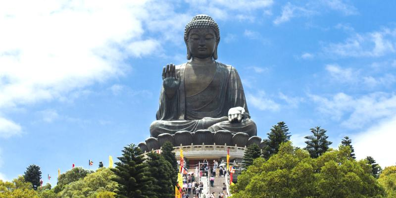 The Giant Buddha of Lantau Island (Tian Tan Buddha)
