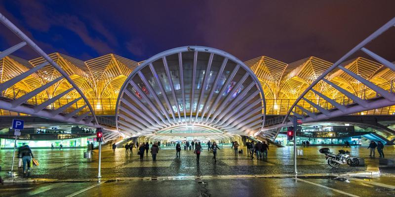 Bahnhof Gare do Oriente