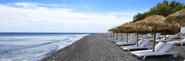 Black Beach, Kamari