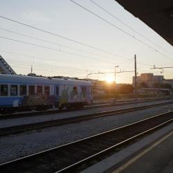 محطة قطار ليوبليانا