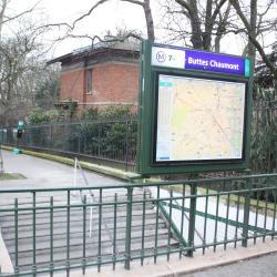 Estação de metrô Buttes Chaumont
