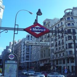 Estação de metrô Plaza de España