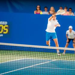 Dubai Duty Free Tennis Stadium