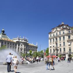 Praça Karlsplatz (Stachus)