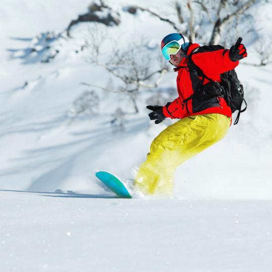 Fim-de-semana de esqui nos Alpes Marítimos