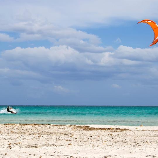 Kitesurf e Windsurf em Porto Pollo