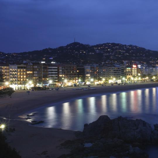 Ocio nocturno en Lloret y Begur
