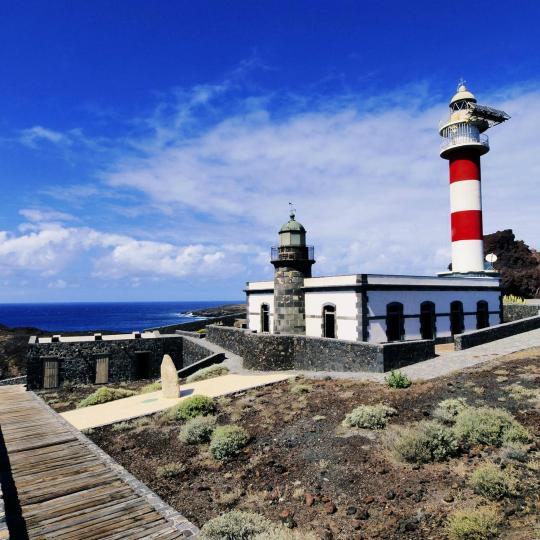 שקיעה מהמגדלור של Punta de Teno