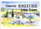 Artiste peintre Francette Berger-Cardi/Cours de peinture/Aquarelles/Dessins