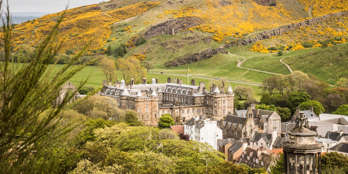 Palace of Holyroodhouse and Holyrood Abbey
