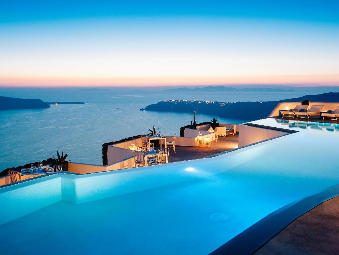 Hotel Grace Santorini, Grecia