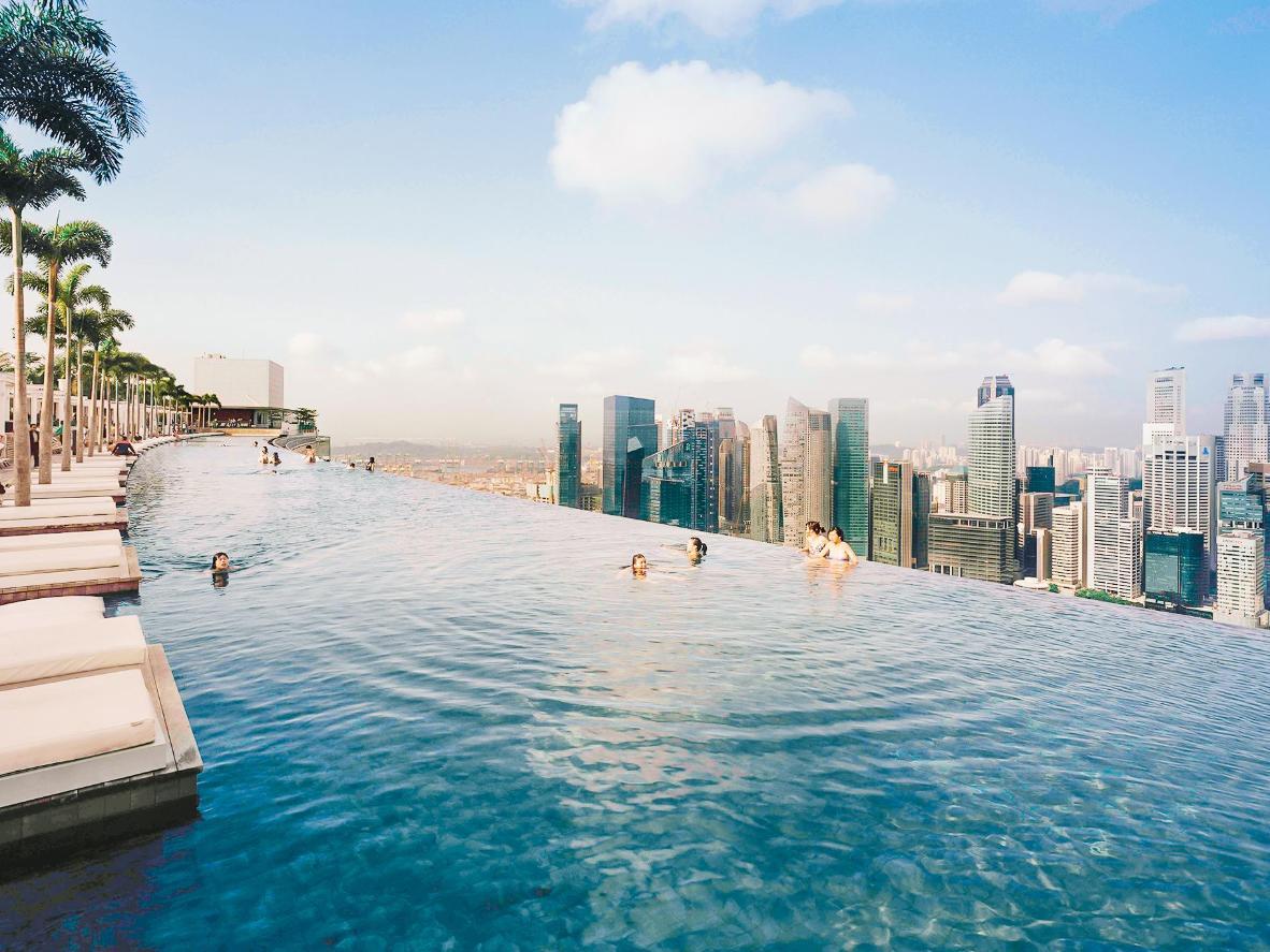 Hotel Marina Bay Sands, Singapur