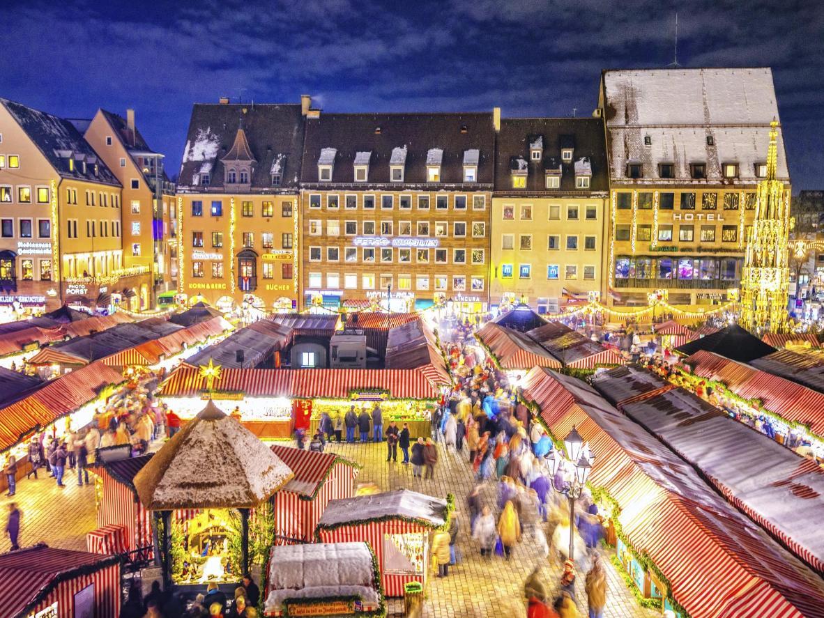 Kerstmarkt van Neurenberg