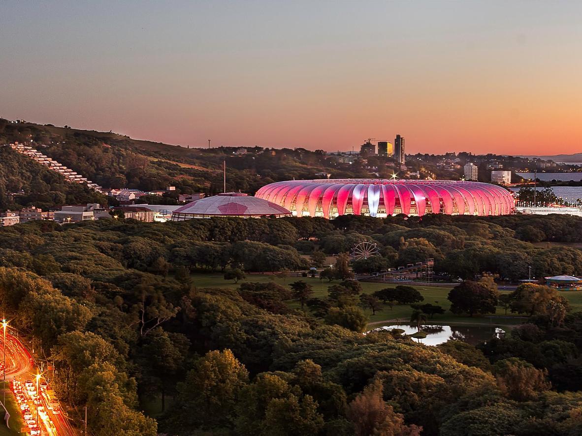 Estádio Beira-Rio, casa de um dos maiores clubes brasileiros, o Sport Club Internacional