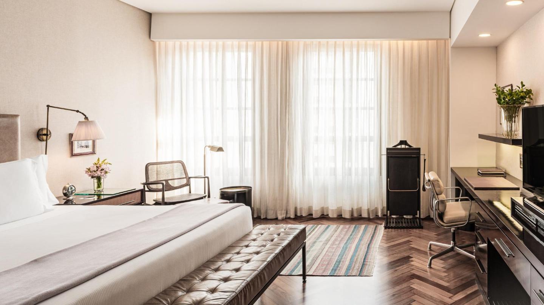 Art Déco minimalista no Hotel Fasano São Paulo