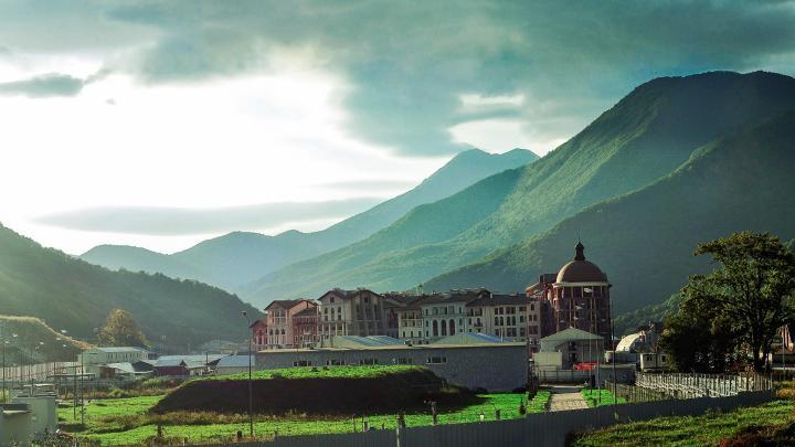 Find the best mountains in Estosadok