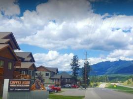 Mountain View Radium Condo - Copper Horn Village, Radium Hot Springs