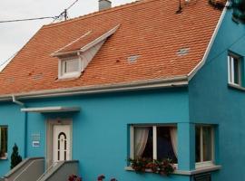 La Maison Bleue, Dieffenbach-au-Val