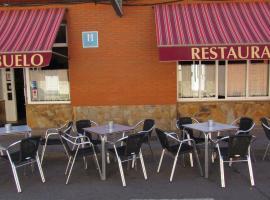 Hostal Restaurante El Abuelo, Trobajo del Camino