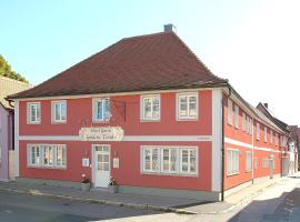 Hotel Garni Goldene Traube, Bad Windsheim
