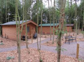 Riddings Wood lodges, Alfreton