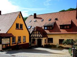 Gasthof Alte Schreinerei, Rotenburgas prie Tauberio
