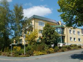 Hotel Haus Birken, Bad Štebenas