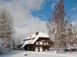Schwarzwaldhof Nicklas, Holzschlag