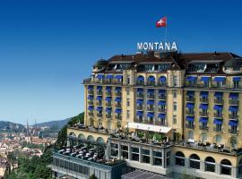 Art Deco Hotel Montana, Lucerna