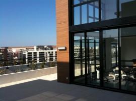 Chambre style villa sur toit Port Marianne, Montpellier