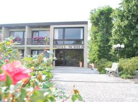 Land-gut-Hotel Nordsee, Hotel Schild, Butjadingen