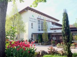 Garten Hotel Hirschenhof, Parsberg