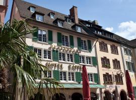 Hotel Rappen am Münsterplatz, Breisgau Freiburgas
