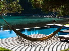 Luxury Private Villa Lake Front Bariloche, 산카를로스데바릴로체
