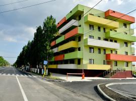 Arlequin Apartments, Mamaia