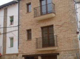 Casa Vallés, Adahuesca