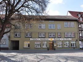 Hotel Goldene Sonne, Arnstadt