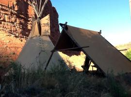 Black Feather Tipi Experience, Kanab