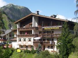 Hotel Garni Bergsonne, Samnaun