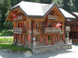 Chalet Suisse Bed and Breakfast, Morgins