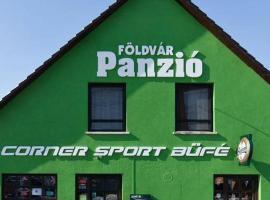 Földvár Panzió és Corner Sport Büfé, Dunaföldvár