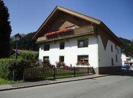 Ferienwohnungen Pahle, Bichlbach