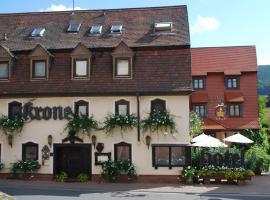 Hotel Garni zur Krone, Laudenbach