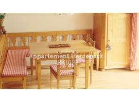 Appartement Hardenack, Innerkrems