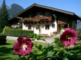Ferienwohnung Waldhäusl, Sankt Martin bei Lofer