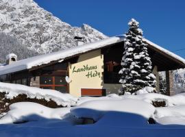 Landhaus Hedy, Heiterwang